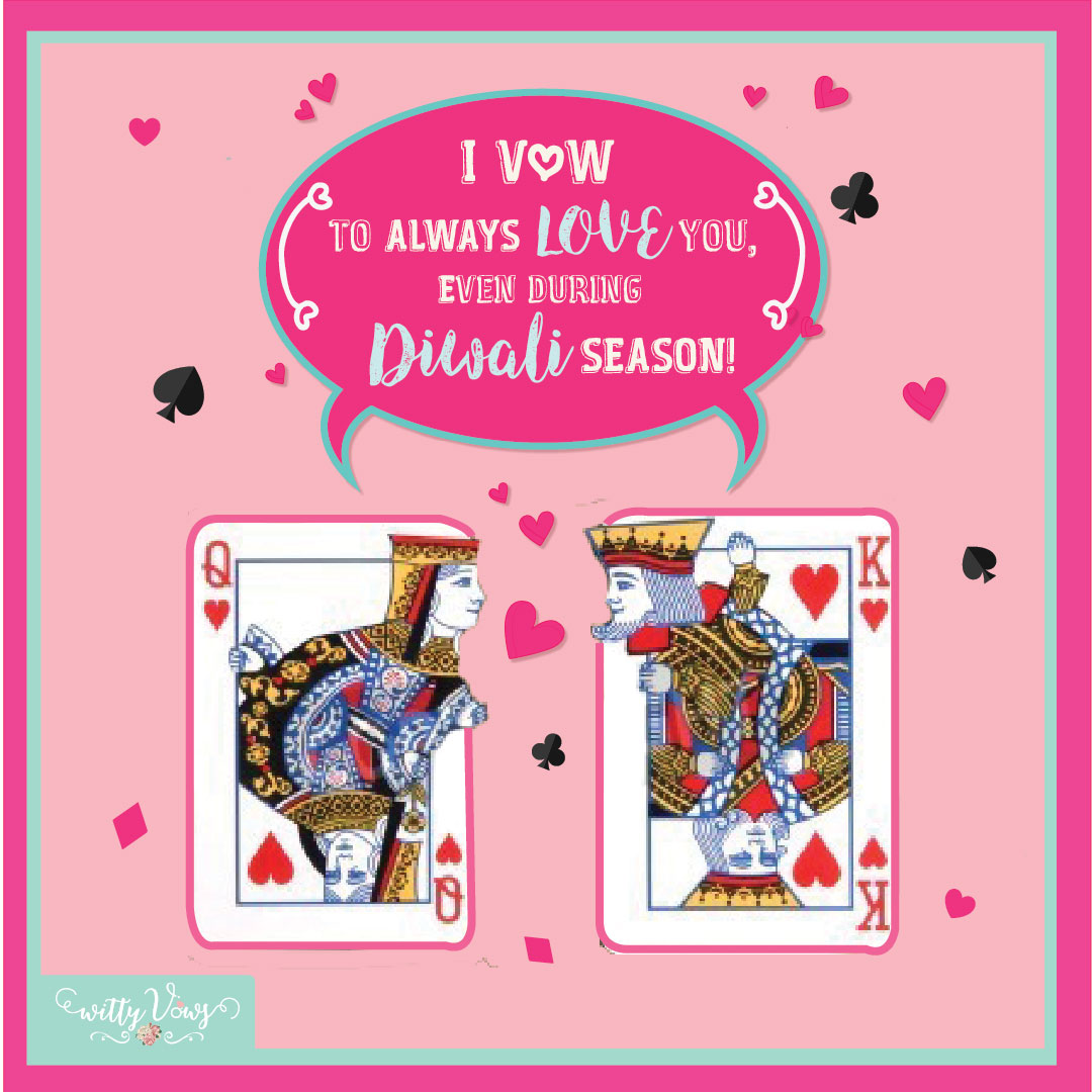 Diwali Quote Witty Vows