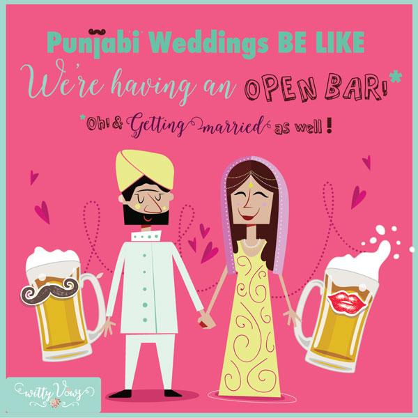 LOL! Super Funny Indian Wedding Quote On Wedding Season