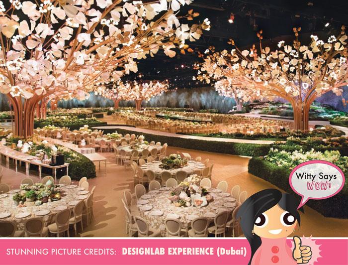 Witty Says WOW   Stunning and amazing wedding reception decor idea ...