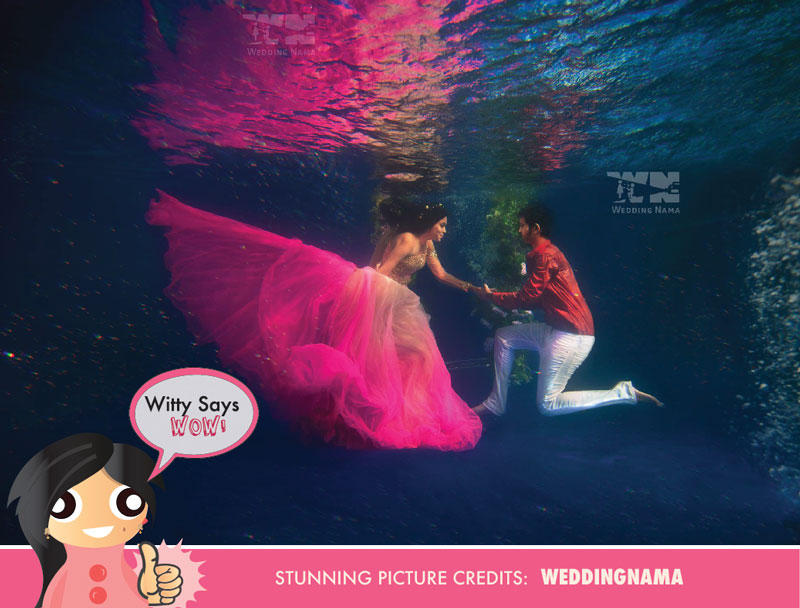 Witty Says Wow New Fun And Innovative Idea Underwater Wedding