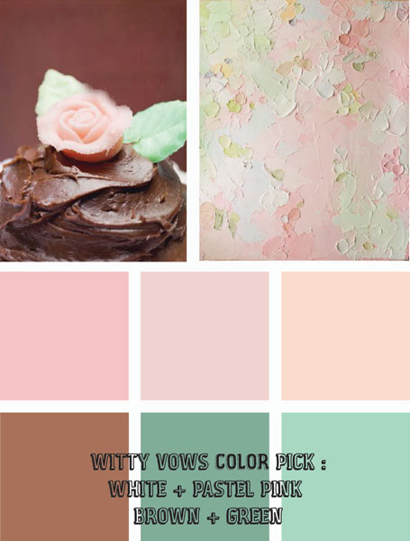 Wedding Mood Board To Love Pastel Paradise For A Rustic Reception