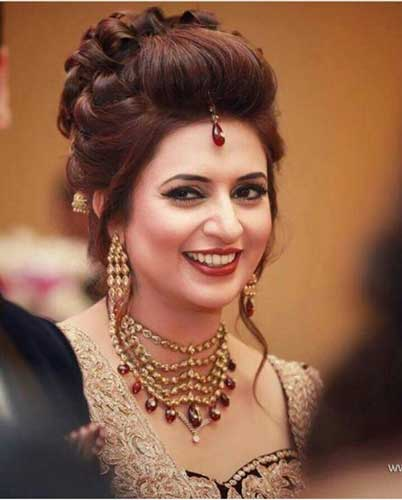 10 Best Indian Wedding Hairstyles For Long Hair Style Samba