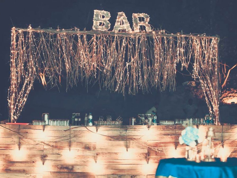Cocktail Party Wedding Ideas Part - 32: Ideas For An Intimate Night Cocktail Party For Indian Weddings | Outdoor  Decor Ideas For Indian