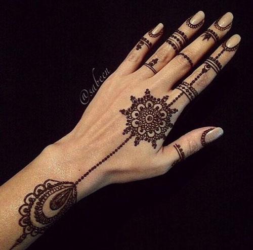 Jewellery Henna 2 - Western Wedding Vows