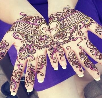 Divya Patel Mehndi Designs Witty Vows