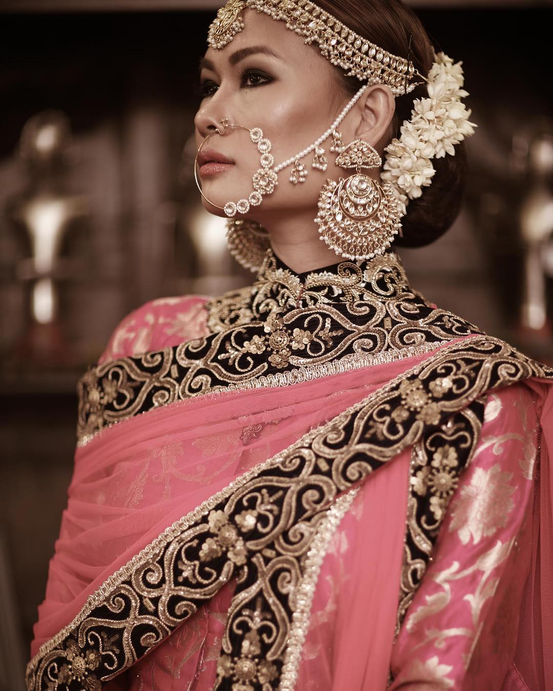 About nath nose ring mukku pudaka on pinterest jewellery gold nose - Bridal Nose Ring Ideas Stunning Bridal Nath Designs That Indian