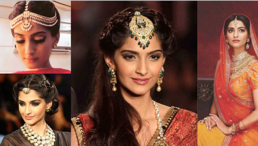 jewellery to match indian brides with an oval face witty