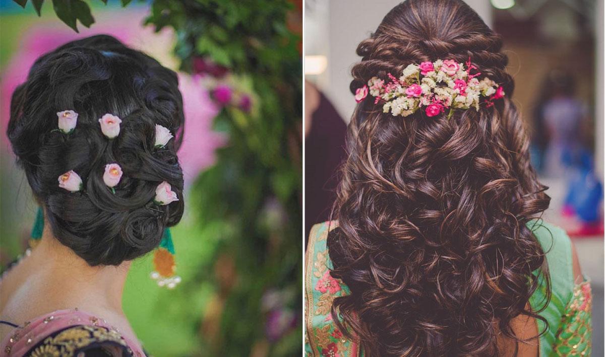 Hair Styles For Weddings: Instagram Alert! Fresh Flower Hairstyles